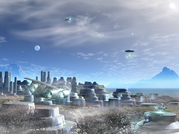 Galactic Cities - Port N'Guyam